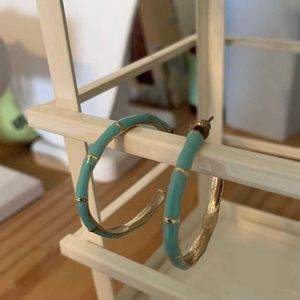 Jewelry - Turquoise hoops